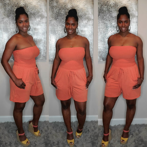 Toya Romper ONLY-Copper