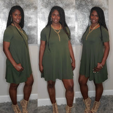 Load image into Gallery viewer, Riley 2 Dress-Olive
