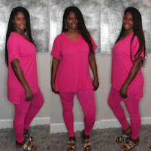 Load image into Gallery viewer, Tasha Set-Hot Pink