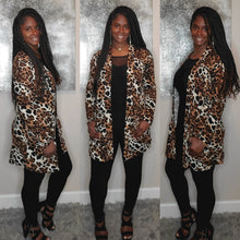 Load image into Gallery viewer, Plus Size Leopard Cardigan 2