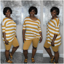 Load image into Gallery viewer, Missy Short Set-Mustard