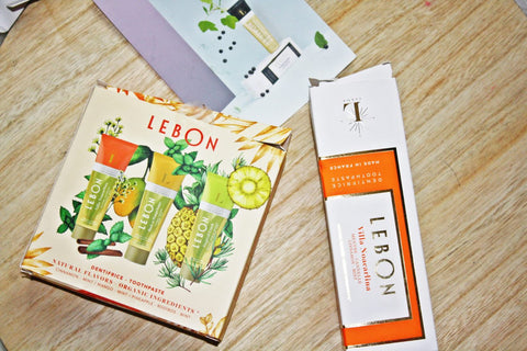 LEBON discovery Box - natural toothpaste