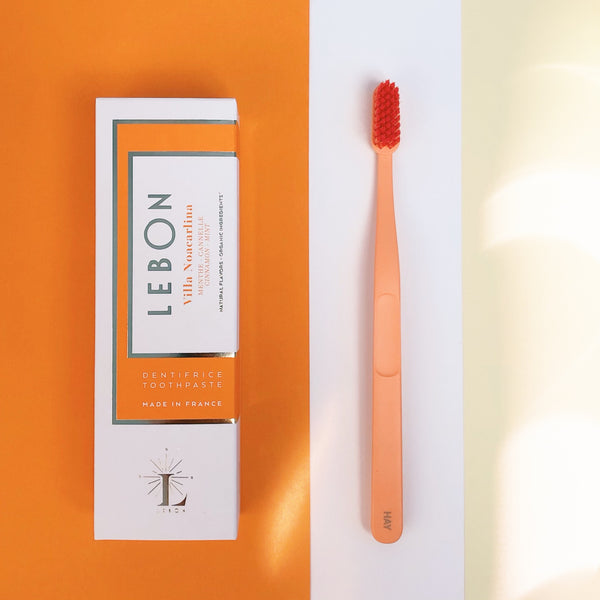 LEBON toothpaste tips for brushing your teeth