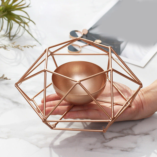 Modern Geometry Tealight Candle Holder