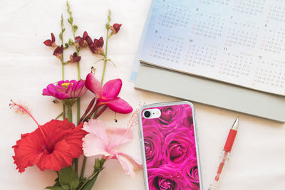 Pink Flowers | iPhone 8 Plus Case