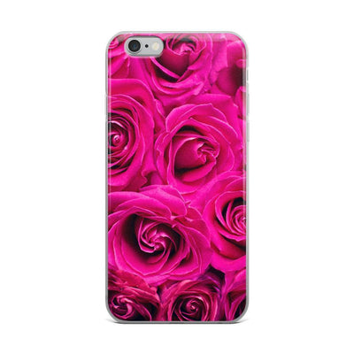 iPhone 6 Plus/6s Plus Pink Flowers | iPhone 6s Case luxeideal cute pretty cool cases and covers for girls
