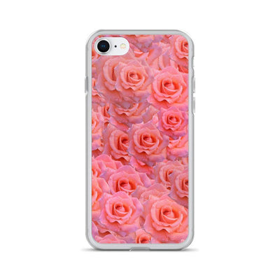 iPhone 7/8 Light Pink Flower Pattern | iPhone 6s Case luxeideal cute pretty cool cases and covers for girls