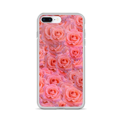 iPhone 7 Plus/8 Plus Light Pink Flower Pattern | iPhone 6s Case luxeideal cute pretty cool cases and covers for girls