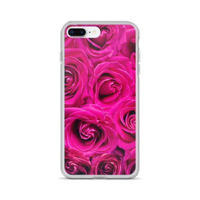 iPhone 7 Plus/8 Plus Pink Flowers | iPhone 6s Case luxeideal cute pretty cool cases and covers for girls