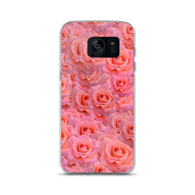 Samsung Galaxy S7 Light Pink Flower Pattern | Samsung Galaxy S8 Case luxeideal cute pretty cool cases and covers for girls