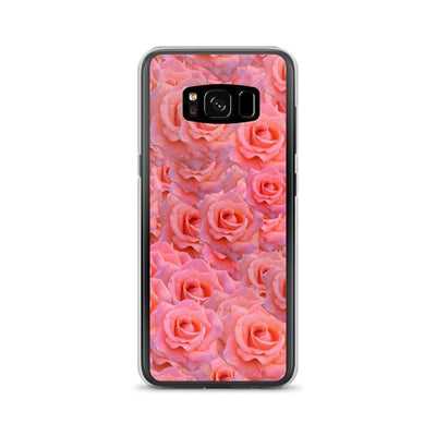 Samsung Galaxy S8 Light Pink Flower Pattern | Samsung Galaxy S8 Case luxeideal cute pretty cool cases and covers for girls