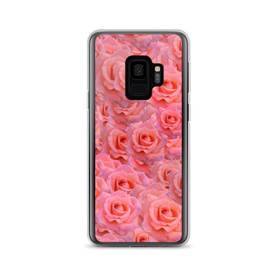 Samsung Galaxy S9 Light Pink Flower Pattern | Samsung Galaxy S8 Case luxeideal cute pretty cool cases and covers for girls