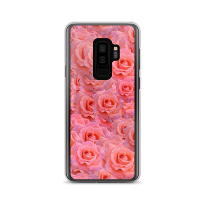 Samsung Galaxy S9+ Light Pink Flower Pattern | Samsung Galaxy S8 Case luxeideal cute pretty cool cases and covers for girls