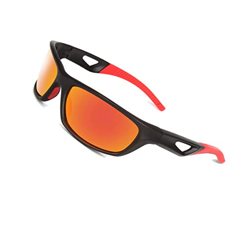 Polarized Sports Sunglasses Shatter Resistant Sunglasses for Men-Women UV Protection By NatoGears