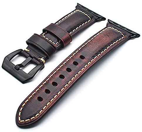 Watch Leather Band, Vintage Strap Wristbands for Apple Watches - Troogears
