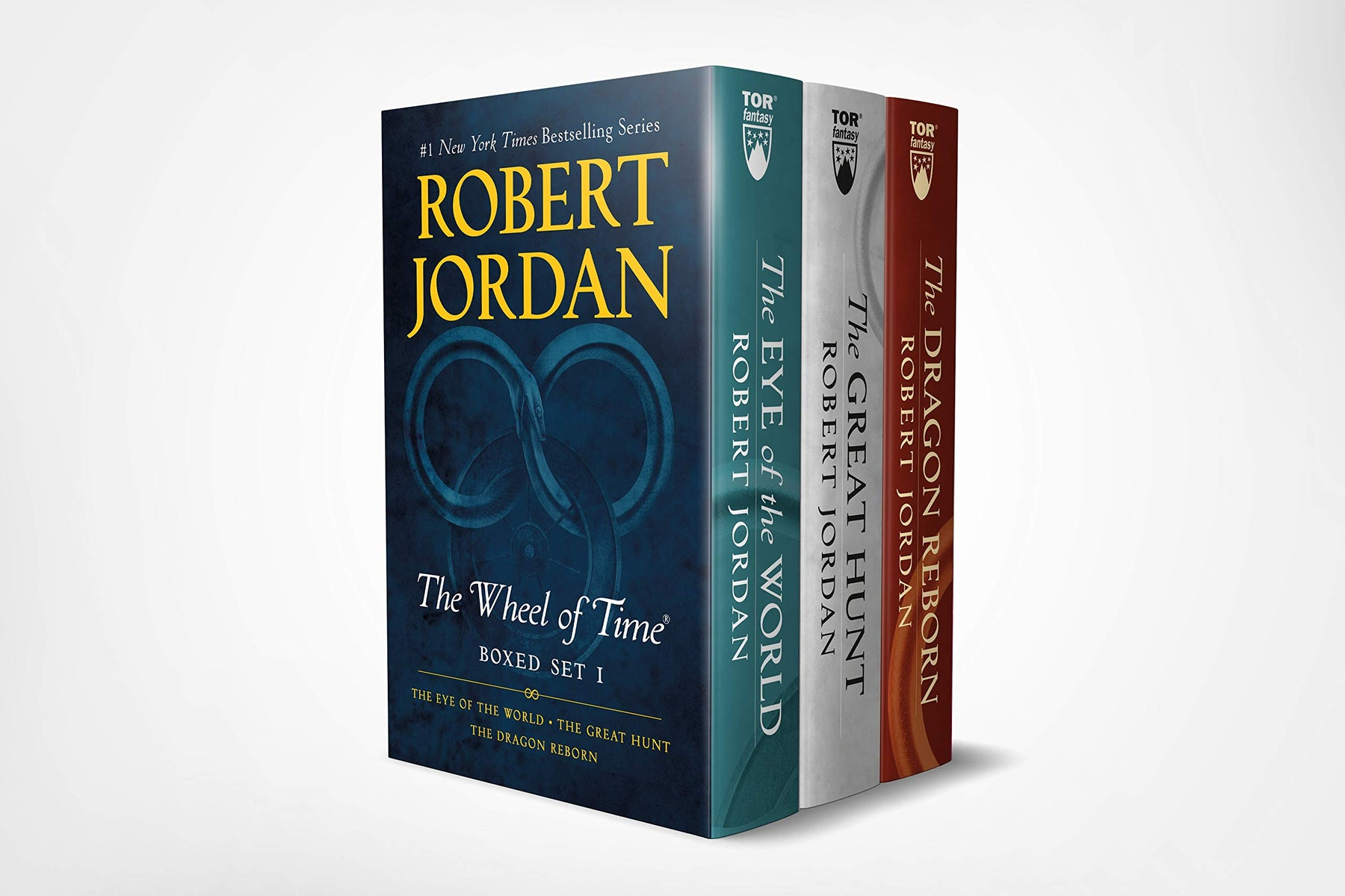 Wheel of Time Premium Boxed Set I: Books 1-3 (The Eye of the World, The Great Hunt, The Dragon Reborn) - Troogears