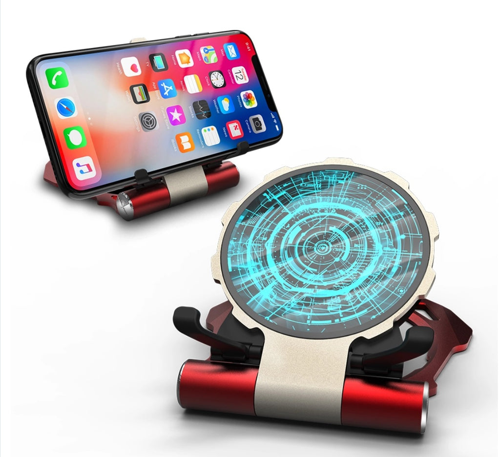 Iron Man Tesseract Wireless Car Charger/Holder for Wireless Enabled Smartphones - Troogears