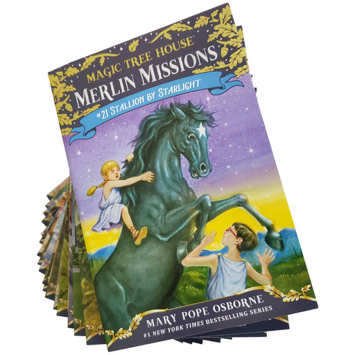 Magic Tree House® Merlin Mission Pack #29 - #49 AKA 1-21: Mary Pope Osborne