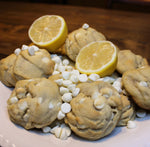 Lemon Cookies with white chocolate morsels