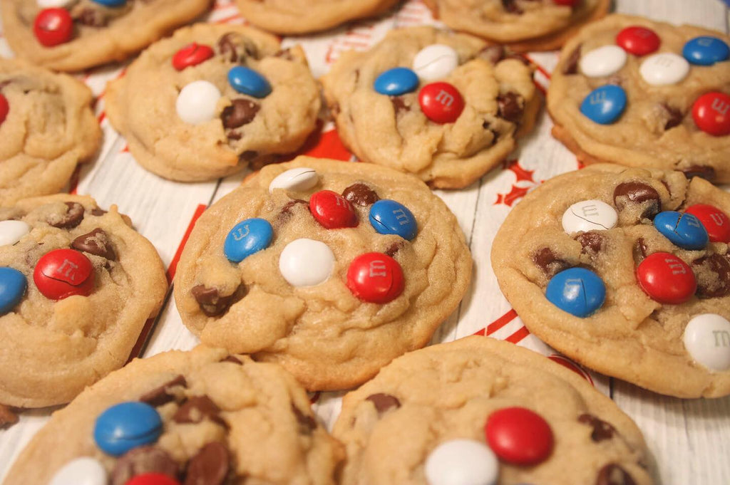 Angie's M&M + Chocolate Chip Cookies