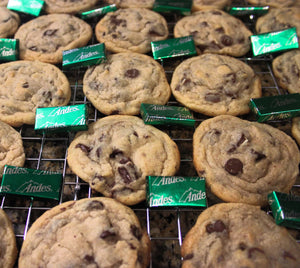 Angie's Andes Mint & Chocolate Chip Cookies