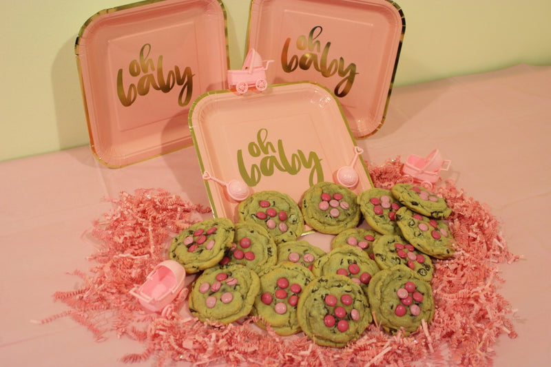 Baby Shower - Girl Cookies