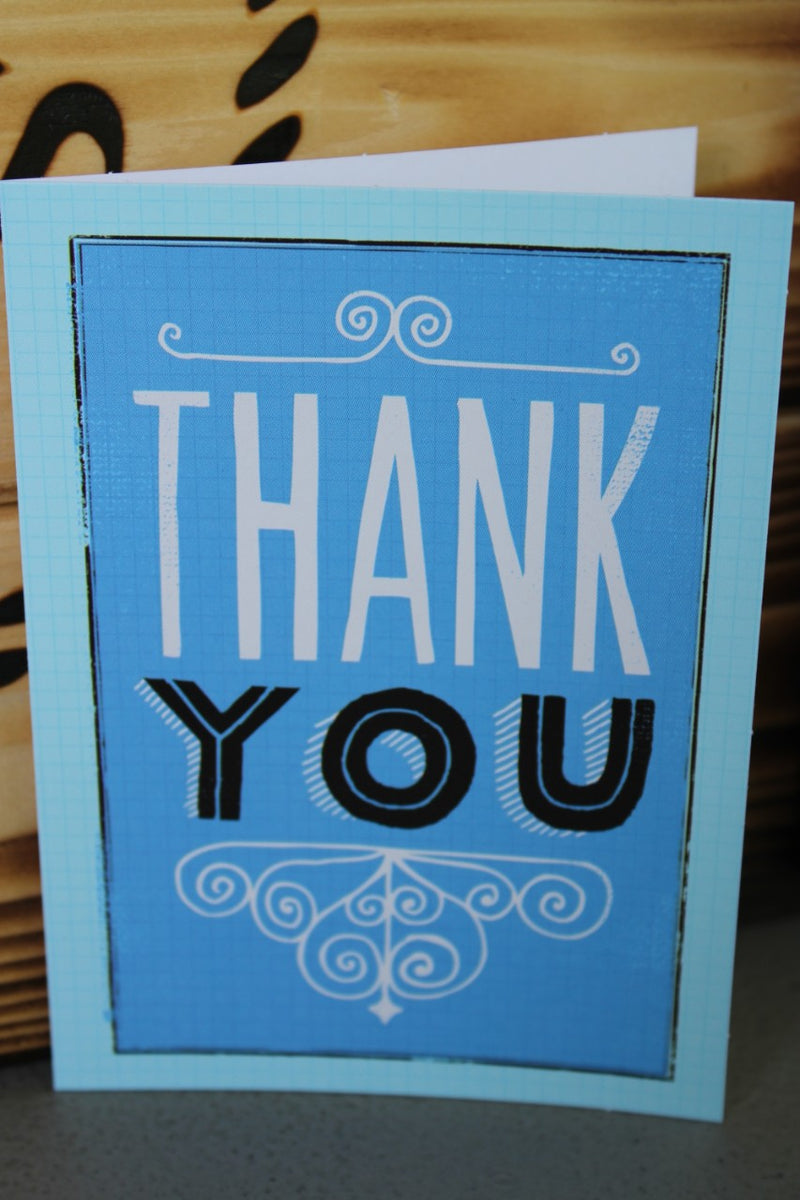 """Thank You"" Card"
