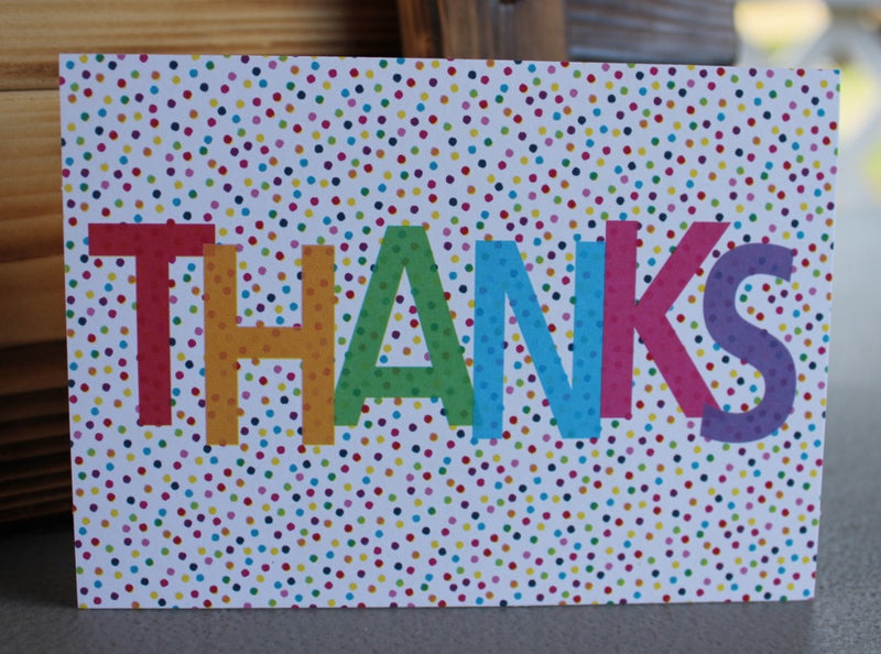 """Thanks"" Card"