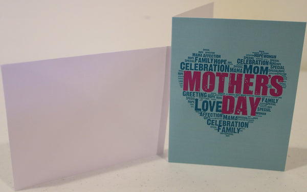 "Mother's Day Card ""Wishing You a Happy Mother's Day"""
