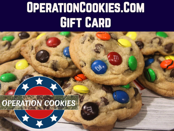 Operation Cookies Gift Card
