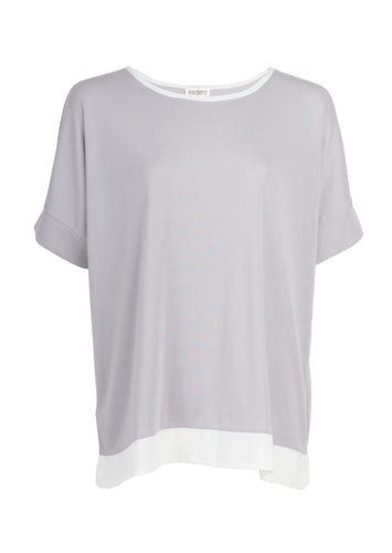 Eaden lounge wear top - short sleeve