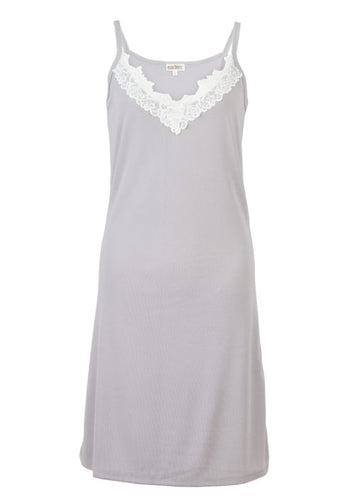 Eaden Grace nightie: grey