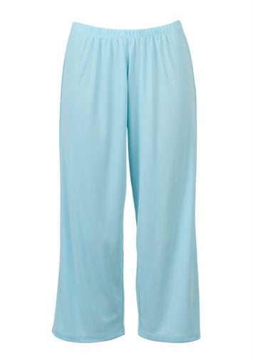 Eaden 3/4 pyjama pants – colour: blue