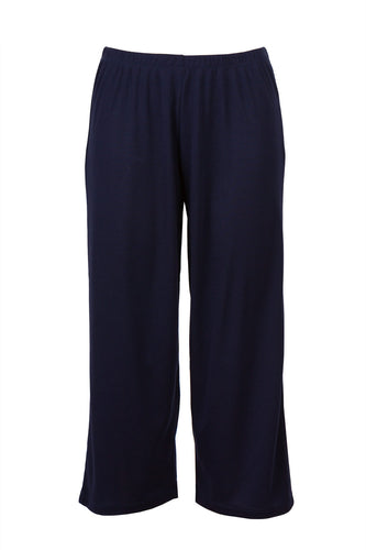 Eaden 3/4 pyjama pants - colour: navy