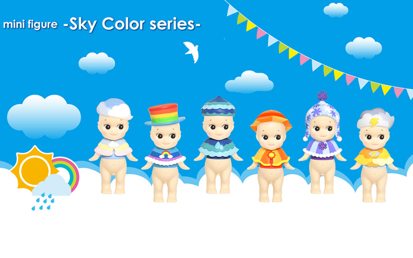 Sky color series - Minifigure