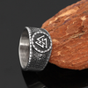 316L STAINLESS STEEL VALKNUT RING