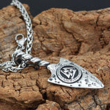 Veg-Visir, , 316L STAINLESS STEEL ODIN'S GUNGNIR NECKLACE, Jewels, Jewelry, Vikings, Norse - Veg-Visir