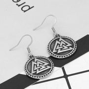 Veg-Visir, , VALKNUT EARRINGS, Jewels, Jewelry, Vikings, Norse - Veg-Visir