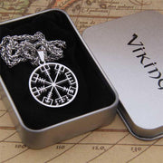 veg-visir, , 316L STAINLESS STEEL VEGVISIR NECKLACE, Jewels, Jewelry, Vikings, Norse - Veg-Visir