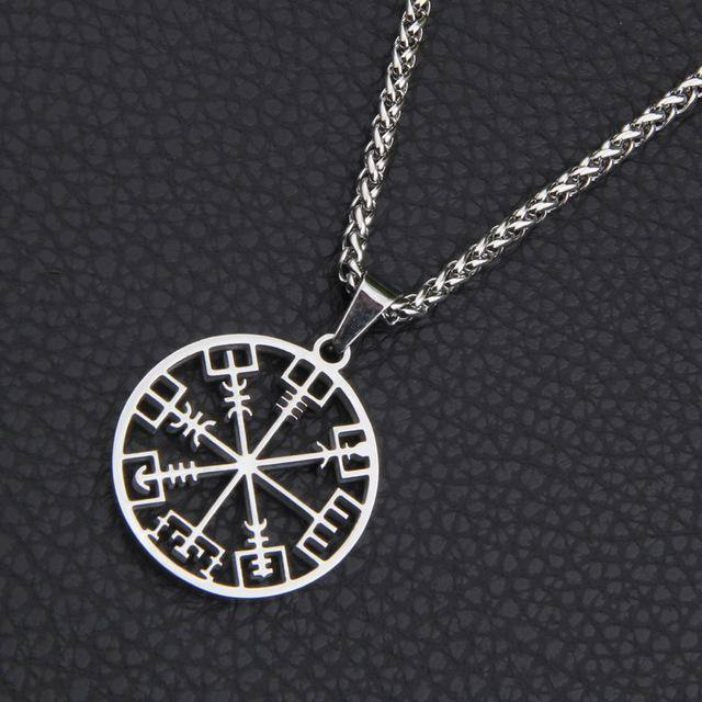 316L STAINLESS STEEL VEGVISIR NECKLACE Yes / No / 50cm veg-visir  veg-visir.myshopify.com Veg-Visir