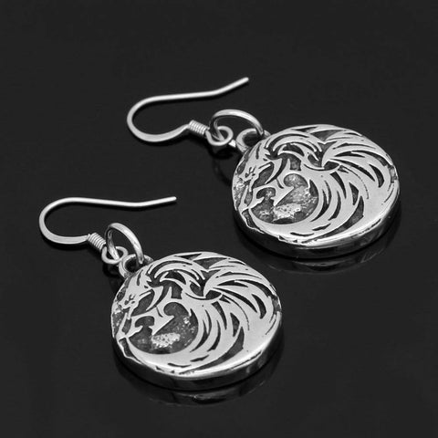 Veg-Visir, , WOLF EARRINGS, Jewels, Jewelry, Vikings, Norse - Veg-Visir