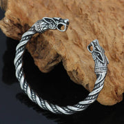 NORSE WOLF ADJUSTABLE BANGLE - Veg-Visir