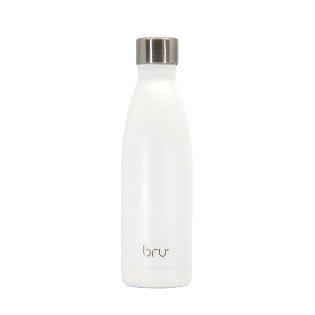 reusable water bottle white,keep cold water bottle, vacuum water bottle, double walled water bottle