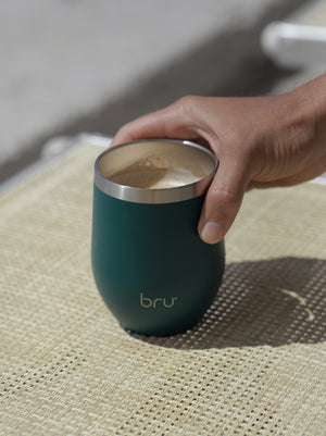 reusable coffee cup, bru cup, green reusable cup, reusable cup, best reusable coffee cup, thermal cup, insulated cup