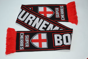 Bournemouth Acrylic Football Scarf