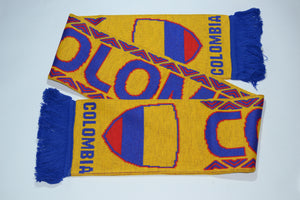 Colombia Acrylic Football Scarf