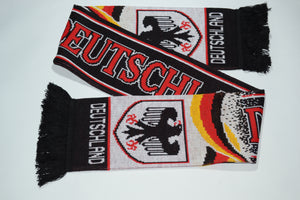 Germany White Acrylic Football Scarf