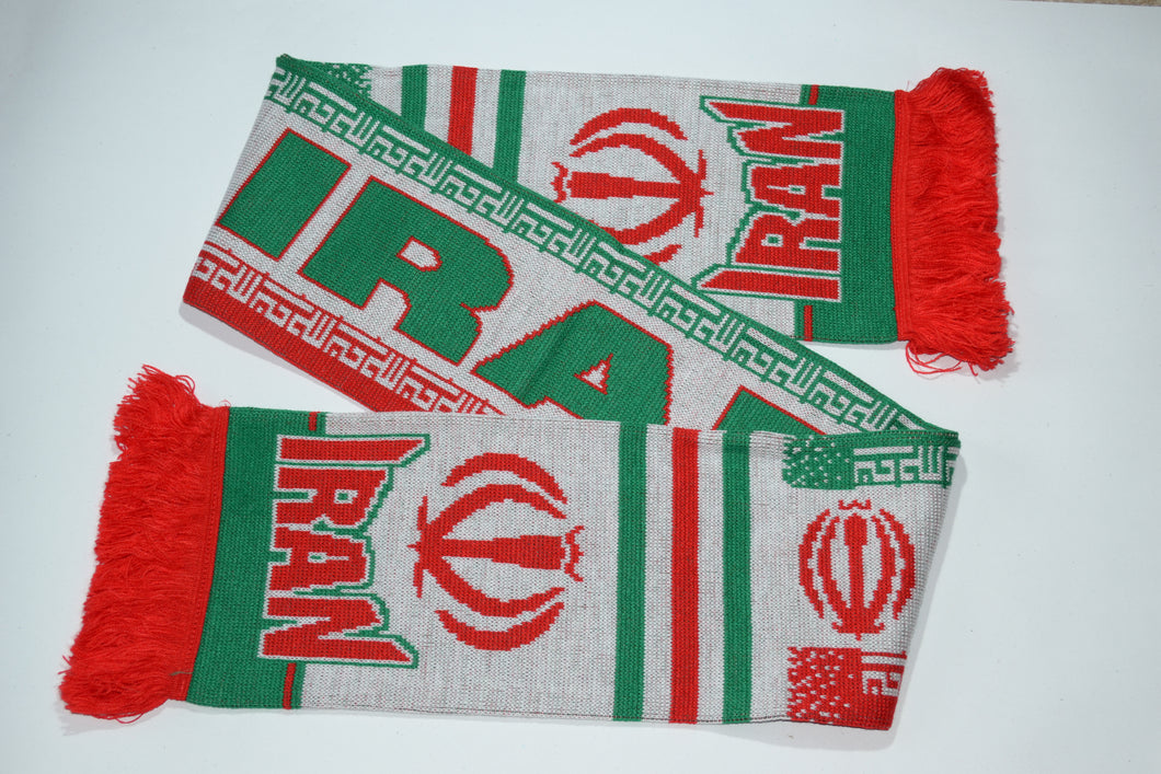 Iran Acrylic Football Scarf