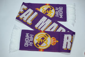 Real Madrid Acrylic Football Scarf