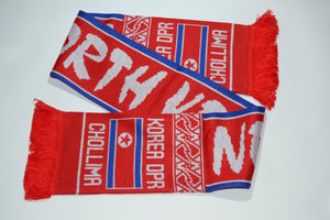 North Korea Acrylic Football Scarf